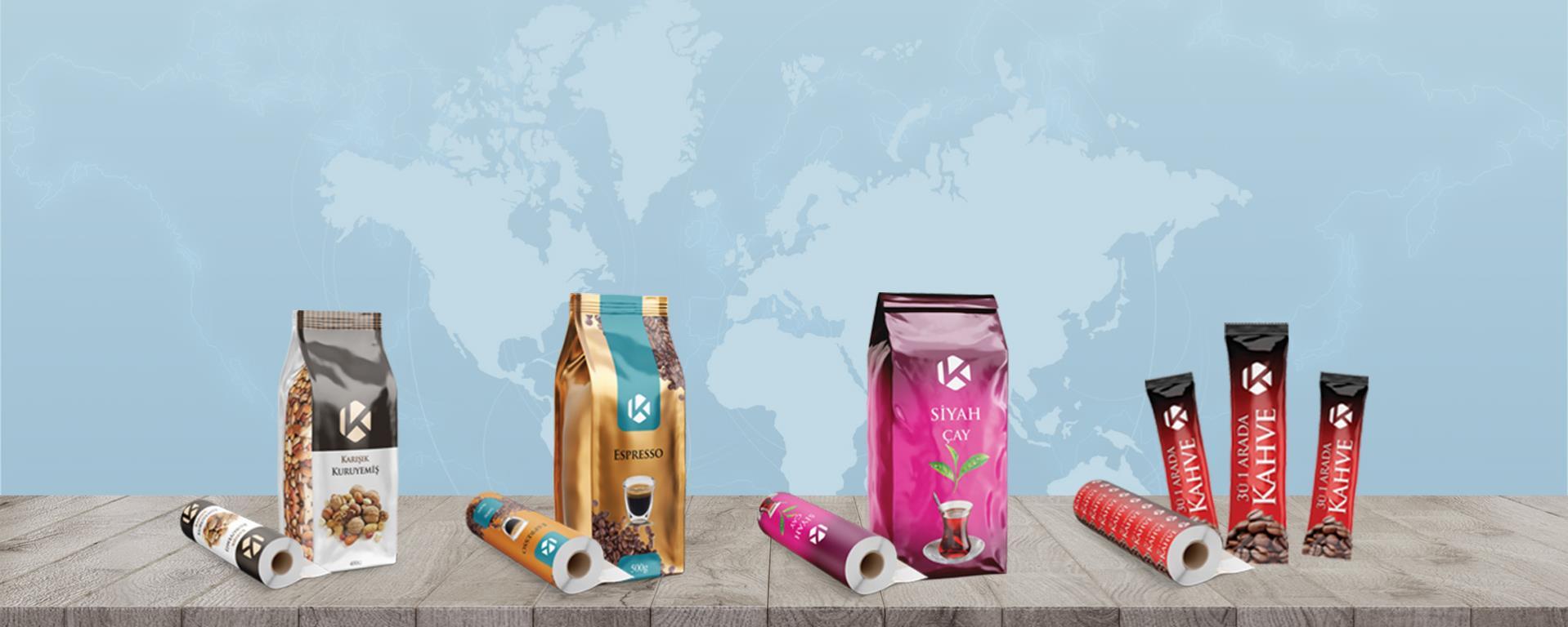 Dry Coffee Packaging