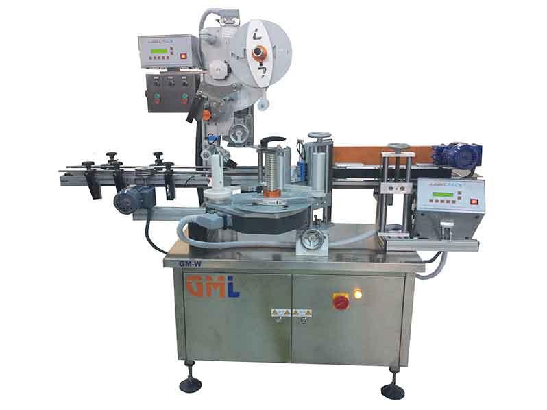 Silindirik Ürün Etiketleme Makinası (Kısmi veya Tam Sarma / Üst Yüzey Etiketleme Makinası) GML-W 140/250