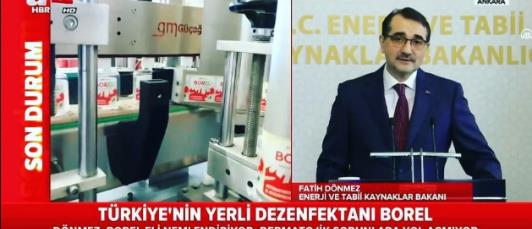 Türkiye için üretmeye devam ediyoruz