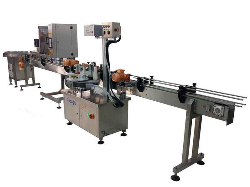 Tam Otomatik Sarma Etiket Yapıştırma Makinesi (GMW-140/250)