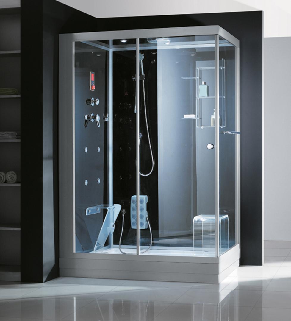 Plastik Duş kabin, Cam Bölme, Mıknatıs Profilleri