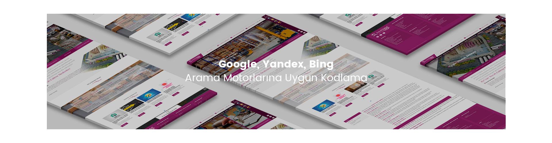 İnter Global Kargo Web Site Google