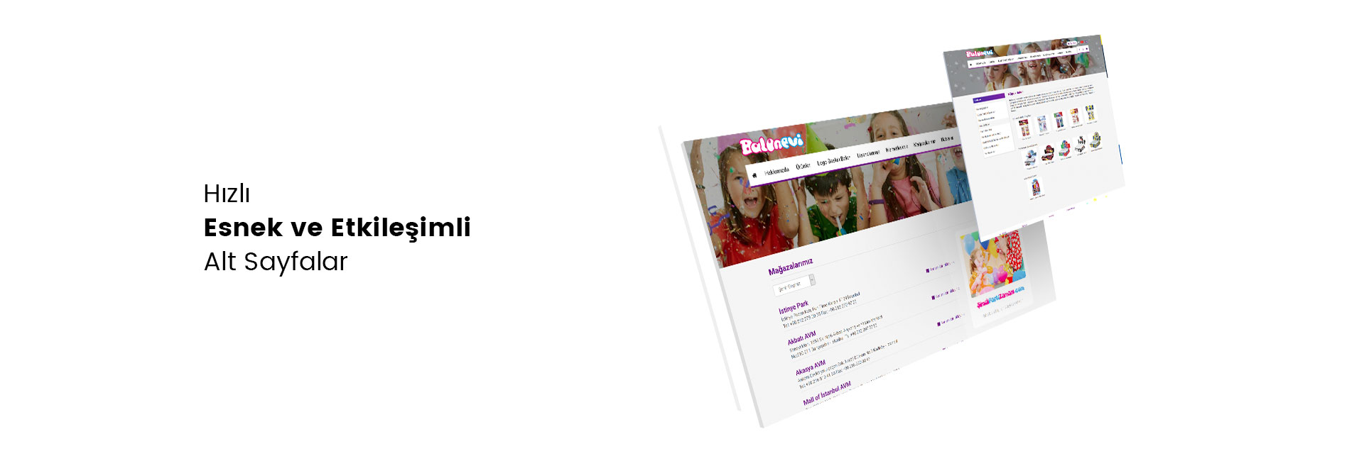 Balonevi Web Sitesi Responsive