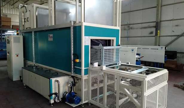 Kartek Horizontal Spray Pre-treatment Line