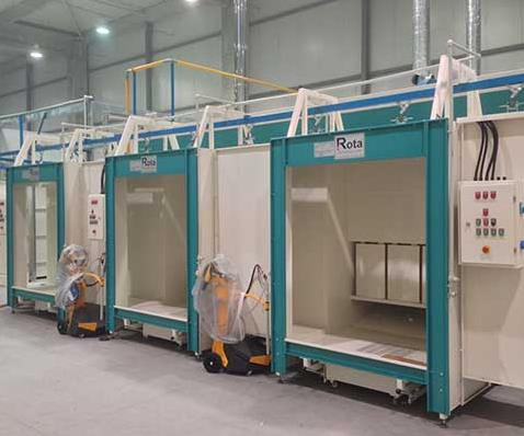 Powder Coating Booths with Filter
