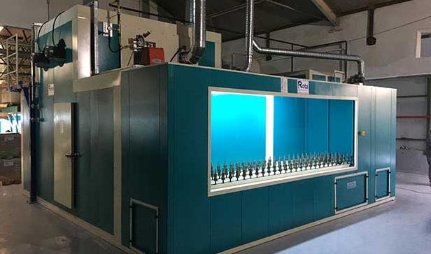 Kompakt Cam Boyama Makinesi