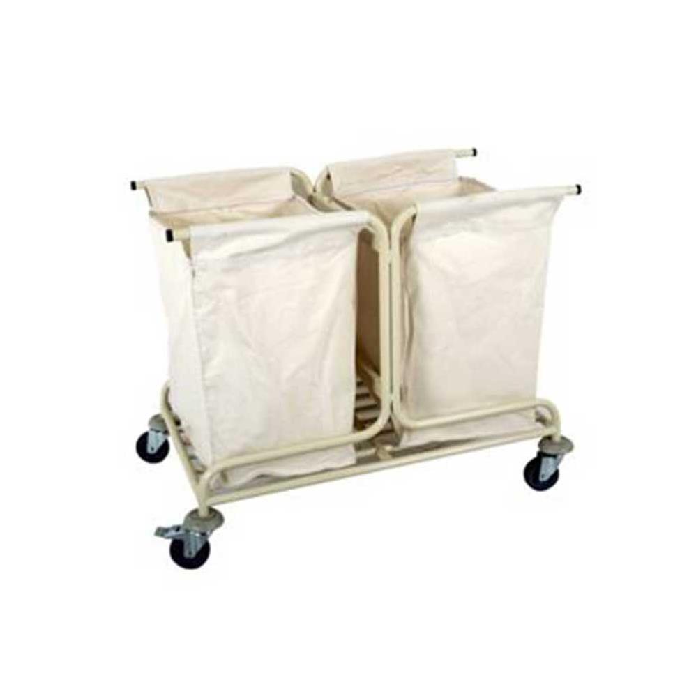 İki Torbalı Çamaşır Arabası - BÇA03