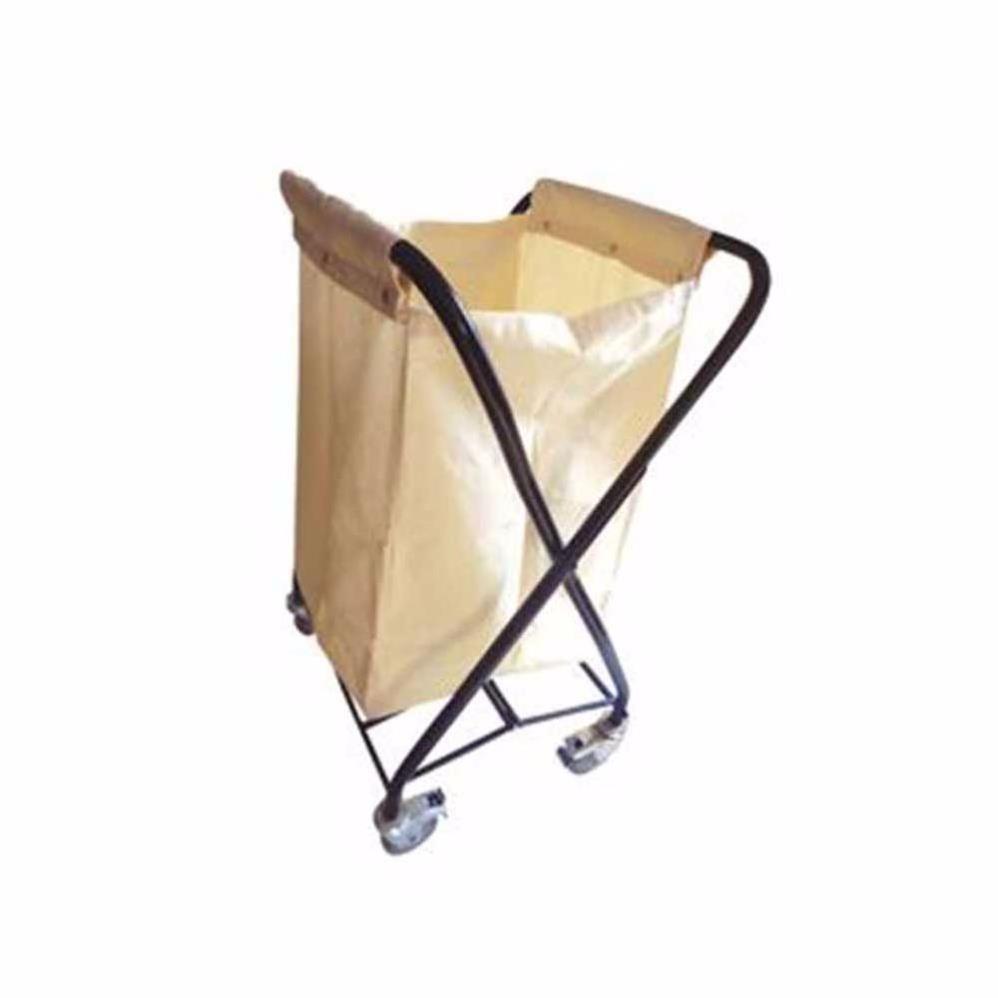 Складная тележка для белья с вертикальной сумкой - BÇA02/K